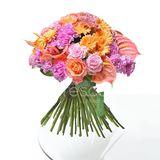 Pestrá dárková kytice