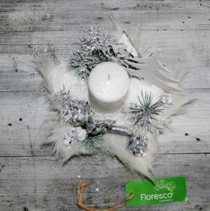 Vánoční svícen na stůl