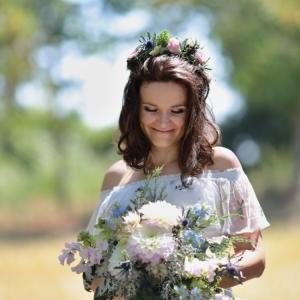 Svatba ve venkovském stylu