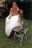 Svatební set - kytice z kal barvy skořice